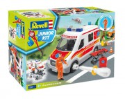Junior Kit auto 00824 - Ambulance Car (Revell 1:20)