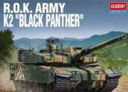 Model Kit tank 13511 - ROK ARMY K2 BLACK PANTHER (1:35)