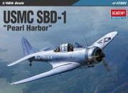 Model Kit letadlo 12331 - USMC SBD-1 Pearl Harbor (1:48)