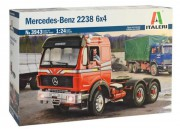 Model Kit truck 3943 - Mercedes-Benz 2238 6x4 (Italeri 1:24)