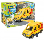 Junior Kit auto 00814 - Delivery Truck incl. Figure (Revell 1:20)