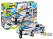 Junior Kit auto 00820 - Police Car with figure (Revell 1:20)
