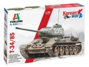 Tank T-34/85 Korean War (Italeri 1:35)