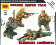 Model Kit figurky 6217 - German Sniper Team (Zvezda 1:72)