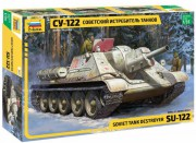 Model Kit military 3691 - Soviet tank Destroyer SU-122 (1:35)