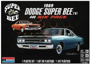 Auto Dodge Super Bee 1969 (Monogram 1:24)