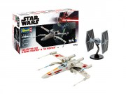 Set X-Wing Fighter (1:57)  +  TIE Fighter (1:65)