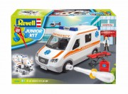 Junior Kit auto 00806 - Ambulance (Revell 1:20)
