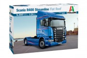 Model Kit truck 3947 - SCANIA R400 STREAMLINE Flat Roof (Italeri 1:24)