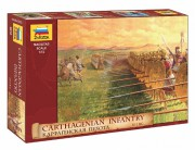 Model Kit figurky 8010 - Carthagenian Infantry (Zvezda 1:72)