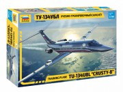 Model Kit letadlo 7036 - Training plane TU-134UBL CRUSTY-B (1:144)
