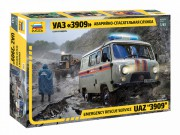 Model Kit auto 43002 – Emergency Service UAZ 3909 (1:43)