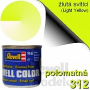 32312 - Světle žlutá 14ml (Light Yellow) 312