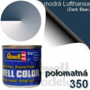 32350 - Modrá Lufthansa 14ml (Dark Blue) 350
