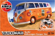 Quick Build auto J6032 - QUICKBUILD VW Camper Surfin (Airfix)