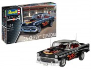 ModelSet auto 67663 - ´56 Chevy Customs (Revell 1:24)