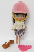 LITTLEST PET SHOP Playfully Plaid panenka Blythe  LPS B4