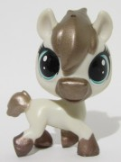 Littlest Pet Shop kůň koník - Steady Saddler LPS (119)