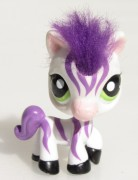 LITTLEST PET SHOP zebra LPS 0903 1490  LPS 2470  +  hříva