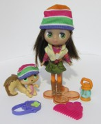 LITTLEST PET SHOP Camp Fashion panenka Blythe B25  +  veverka LPS 2166