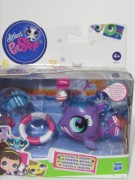 LITTLEST PET SHOP  NOVÉ - talent hýbací VELRYBA  LPS 2760