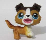 LITTLEST PET SHOP pes - kolie  +  3x magnet LPS 237