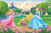DISNEY PRINCESS WALLTASTIC 3D FOTOTAPETA