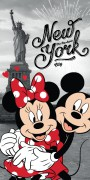 Osuška Mickey a Minnie v New Yorku