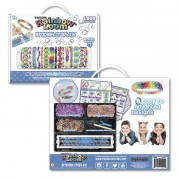 Rainbow Loom® Bracelet Craft Kit  +  1800 gumiček