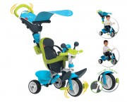 Tříkolka  Baby Driver Comfort Blue Smoby
