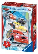 Puzzle cars ice mini