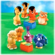 FISHER PRICE LITTLE PEOPLE zvířátka z Noemovy archy