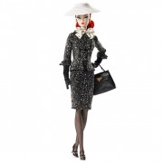 Black & White Tweed Suit Barbie® Doll
