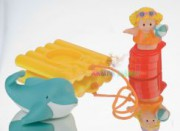 FISHER PRICE LITTLE PEOPLE hrací sada do vany