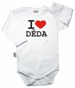 Baby Dejna Body I Love Děda