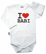 Baby Dejna Body I love babi
