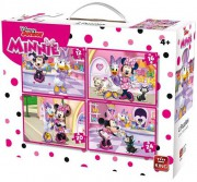 Minnie Mouse puzzle 4v1 (4 + )